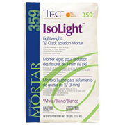 TEC IsoLight™ - Lightweight 1/8 Crack Isolation Mortar